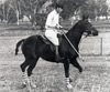 Bambi ridden by HRH The Prince of Wales
