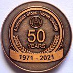 50 Years Medallion